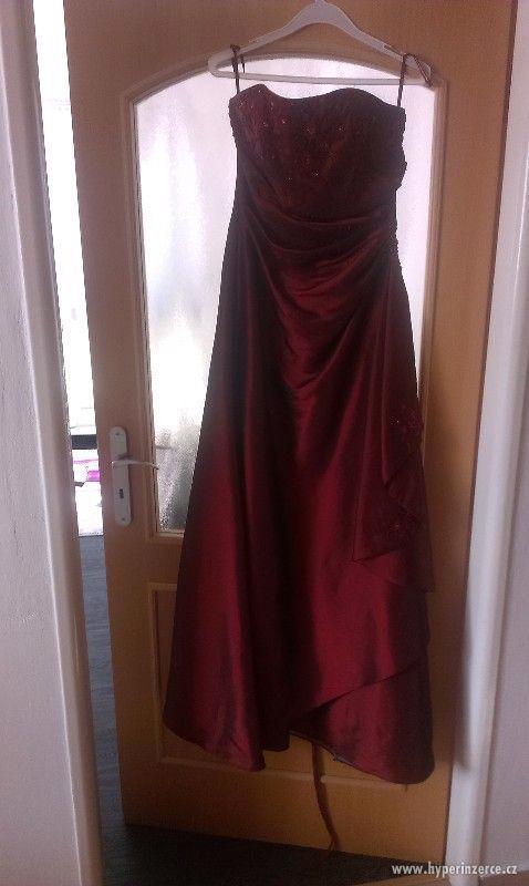 Prodám plesové šaty - foto 3