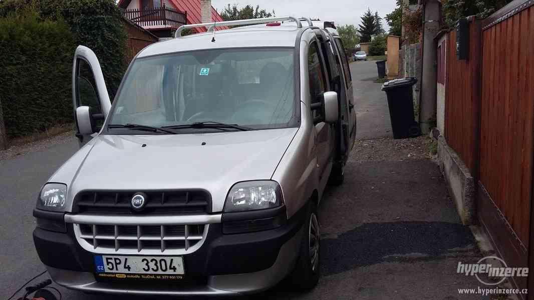 Prodam osobní automobil Fiat Doblo 1.9JTD - foto 5