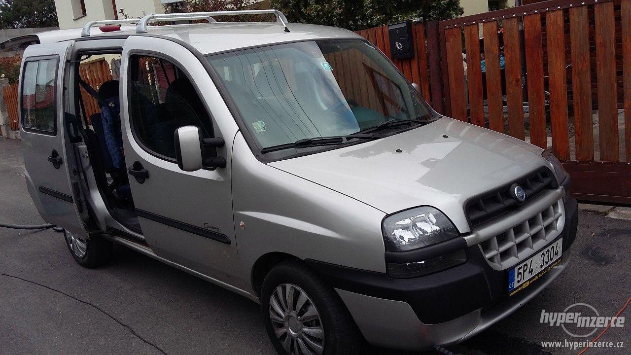 Prodam osobní automobil Fiat Doblo 1.9JTD - foto 1