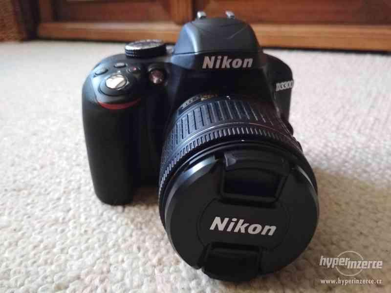 Zrcadlovka Nikon D3300 s prodlouženou zárukou