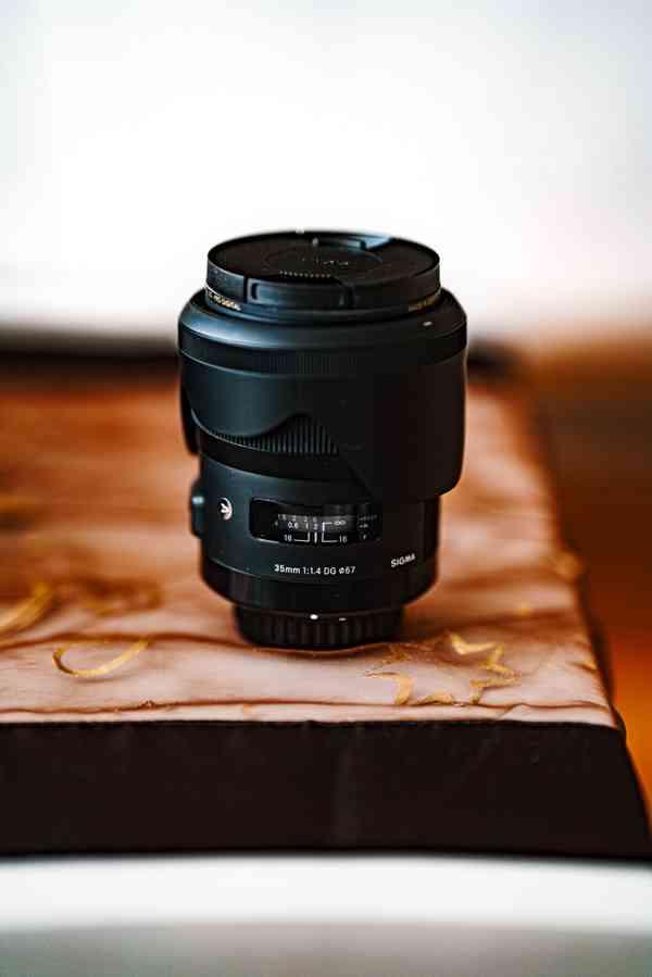 Prodám objektiv SIGMA 35 mm f/1,4 DG HSM Art pro Pentax K
