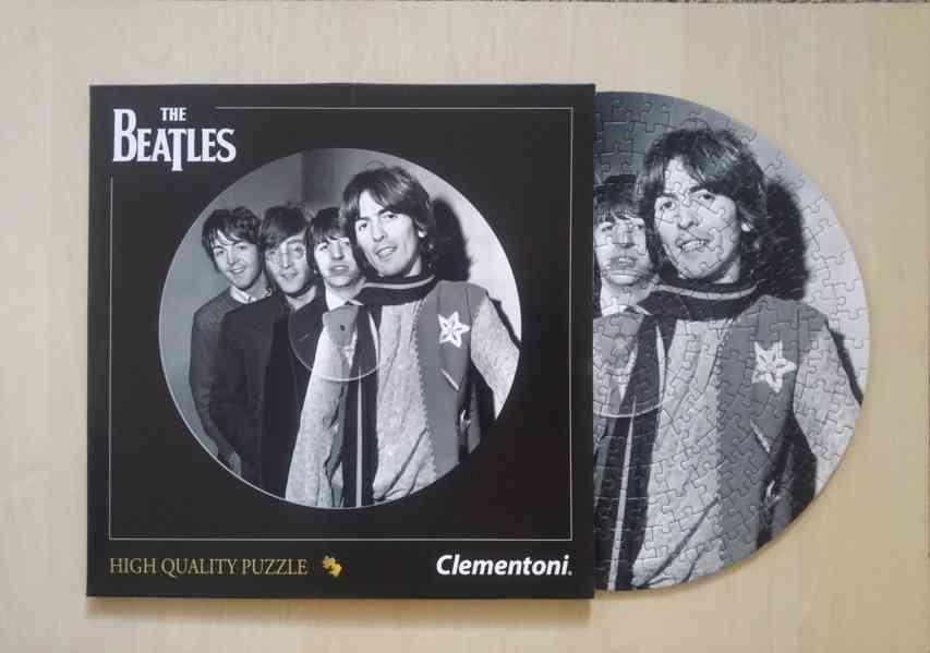 Puzzle The Beatles, 212 dilku, zn. Clementoni