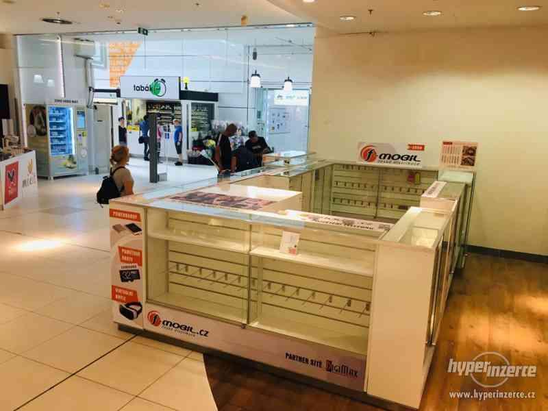 Prodejní stánek, kiosk do obchodního centra vč. LED světel - foto 2