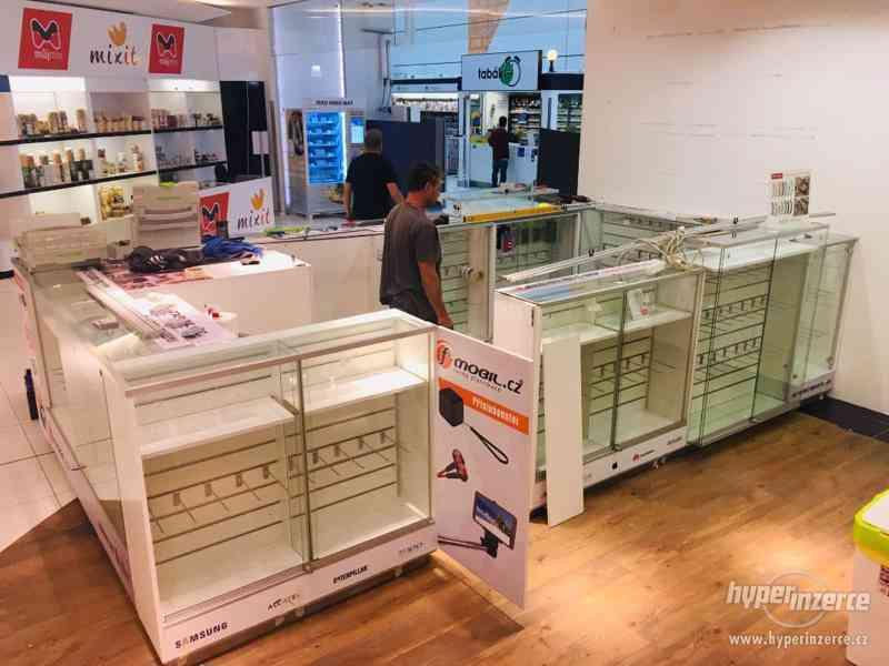 Prodejní stánek, kiosk do obchodního centra vč. LED světel - foto 3