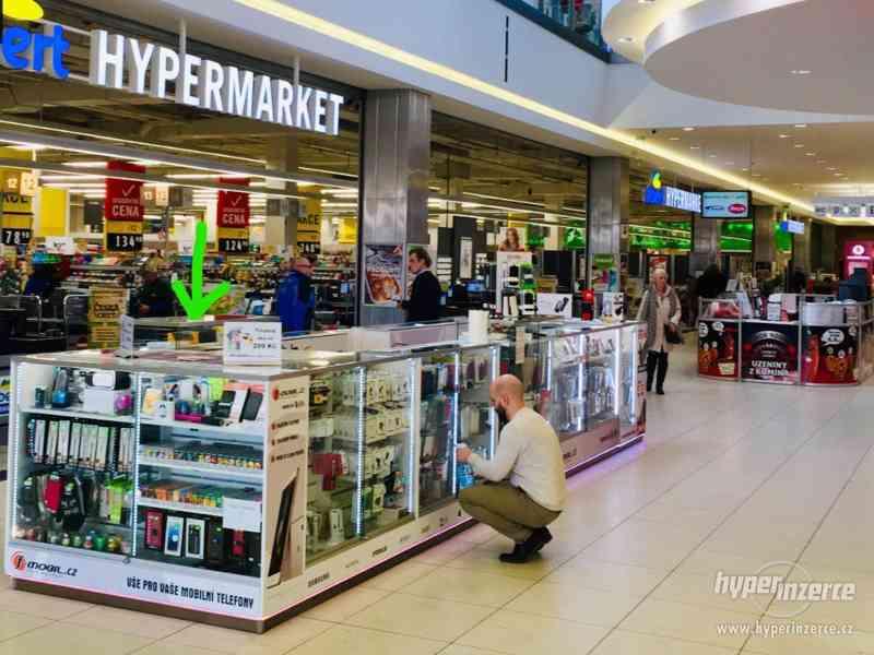 Prodejní stánek, kiosk do obchodního centra vč. LED světel - foto 4