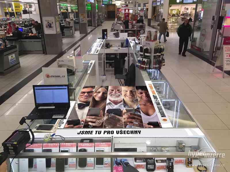 Prodejní stánek, kiosk do obchodního centra vč. LED světel - foto 5