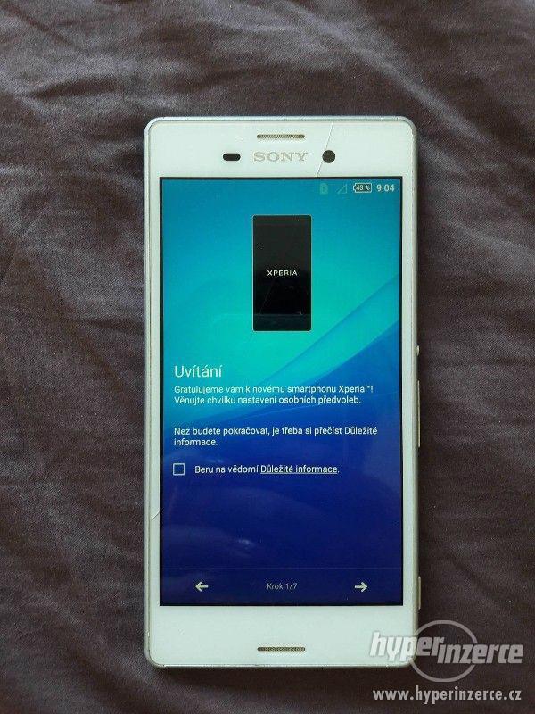 Sony Xperia M4 Aqua bílý