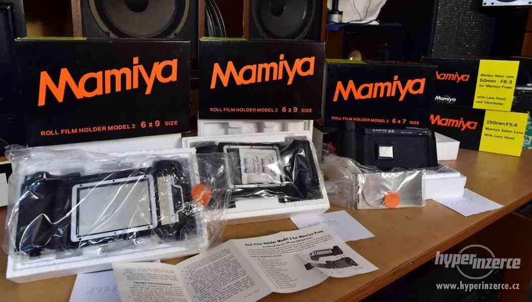 Mamiya Roll Film Holder Model 2 Mamiya PRESS NEPOUŽITÉ
