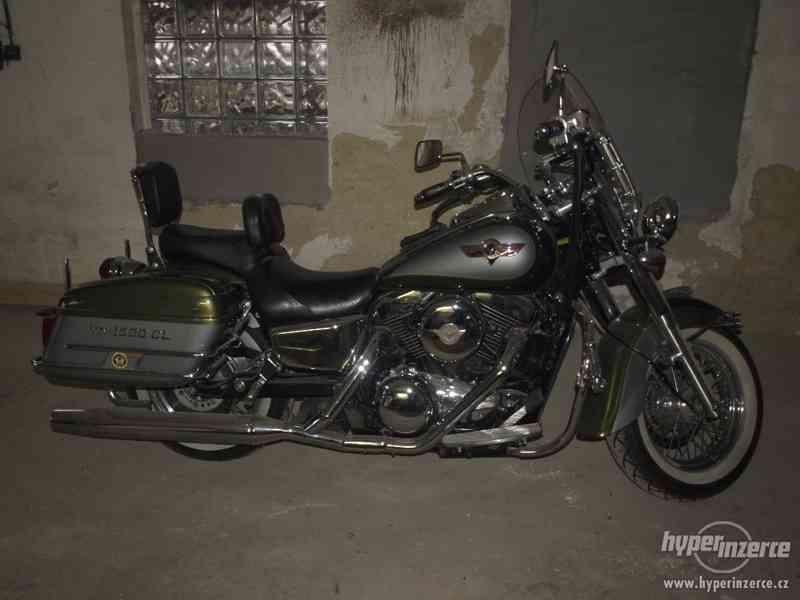 Prodám motorku Kawasaki 1500