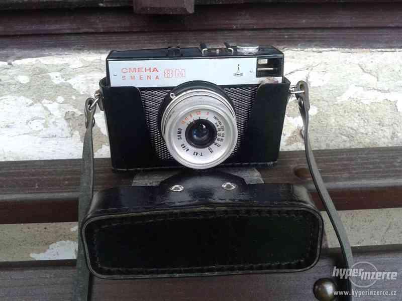 Prodám historické fotoaparáty