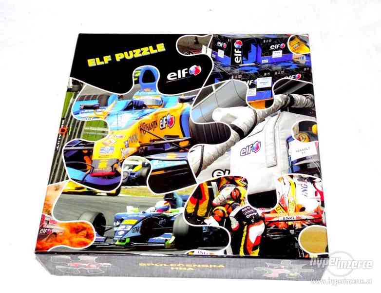 Maxi puzzle se závodní formulí. - foto 3