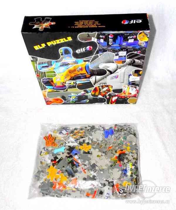 Maxi puzzle se závodní formulí. - foto 5