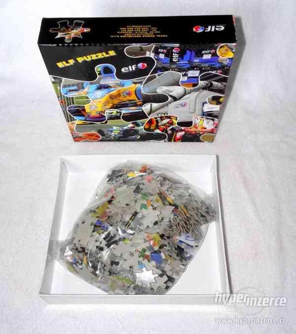 Maxi puzzle se závodní formulí. - foto 7