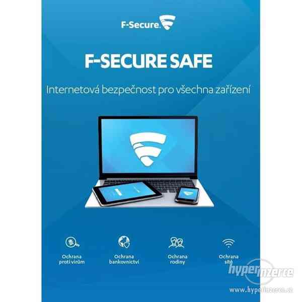 Antivirus F-Secure Safe pro 3 zařízení na 6 měsíců