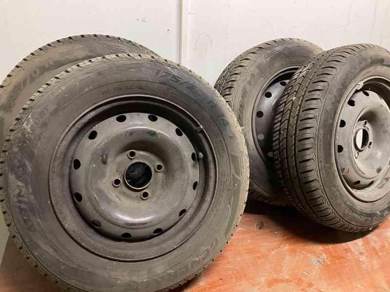 Prodám letní sadu pneu - foto 1