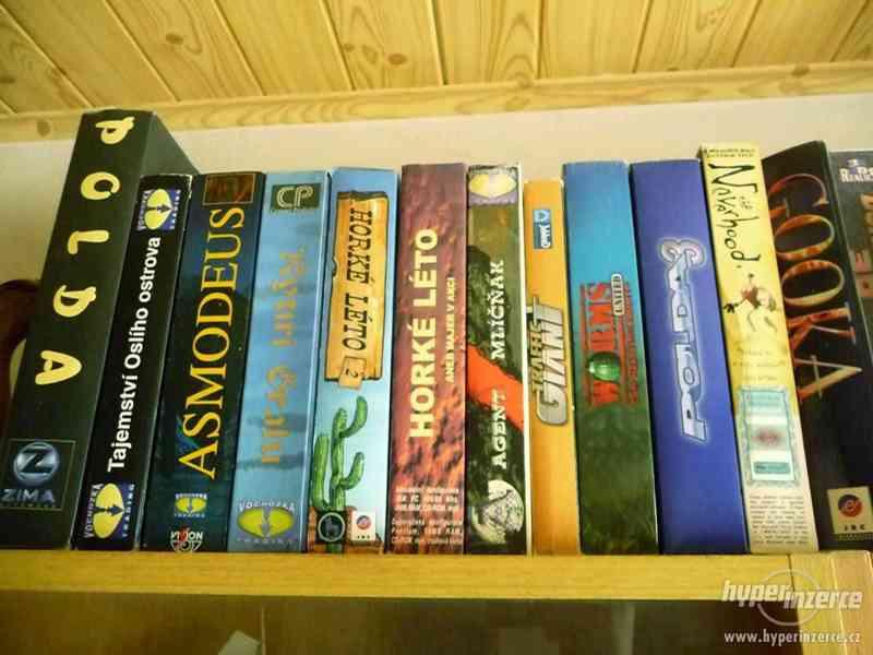 Sháním starší počítačové hry z 90.let, krabicové verze