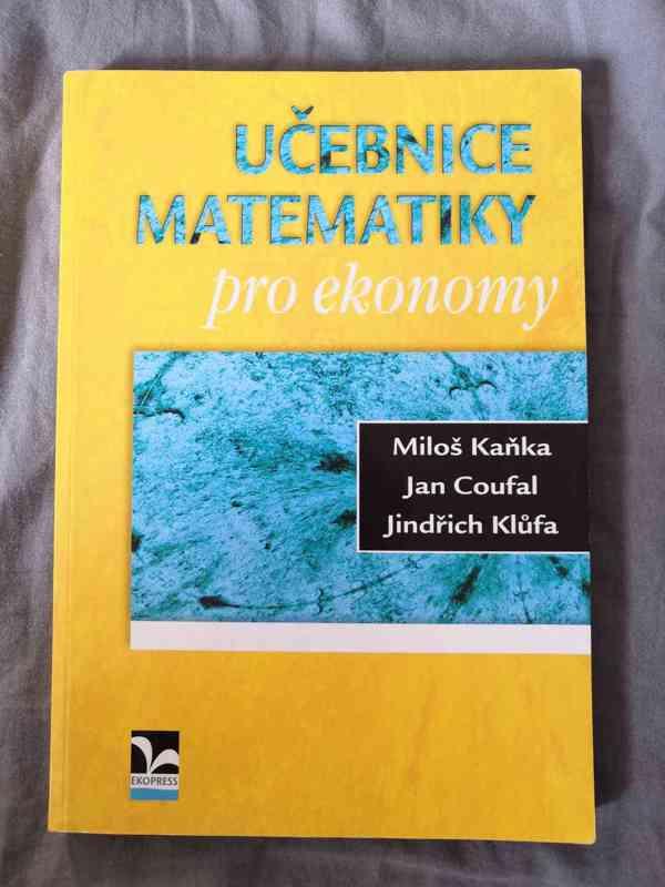 VŠE učebnice matematiky pro ekonomy - Miloš Kaňka, Coufal