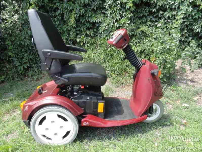 Elektrický invalidní vozík skútr zn. Trophy Booster 5 SLEVA!