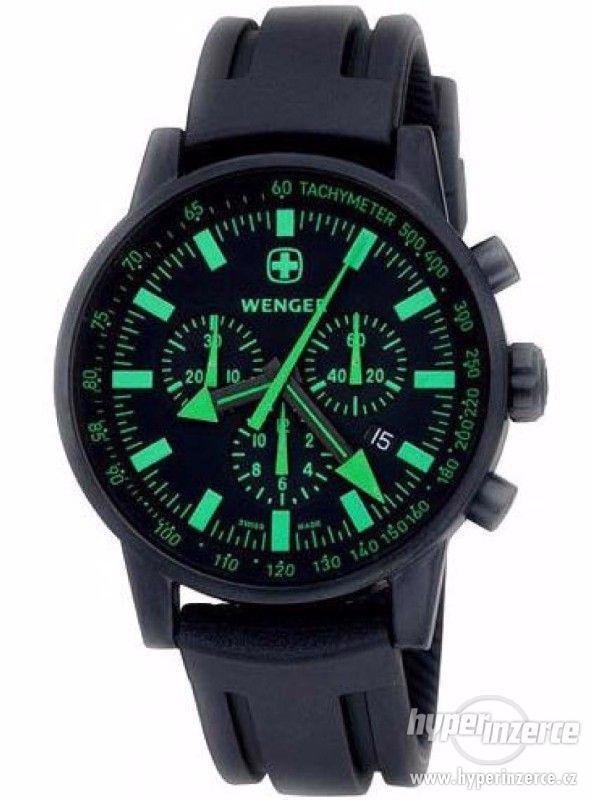 Koupím poškozené hodinky Wenger Commando SRC