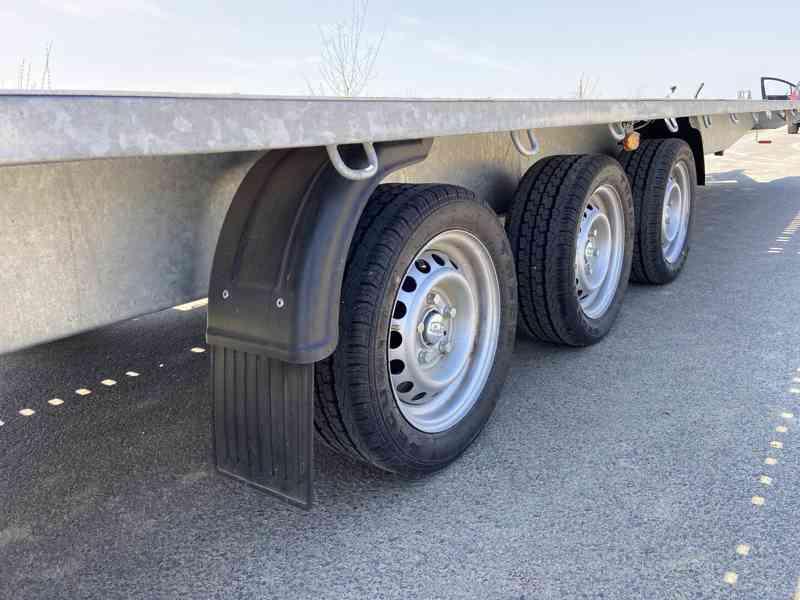 BORO INDIANA 800x200-3500 kg-přepravník automobilů - foto 4
