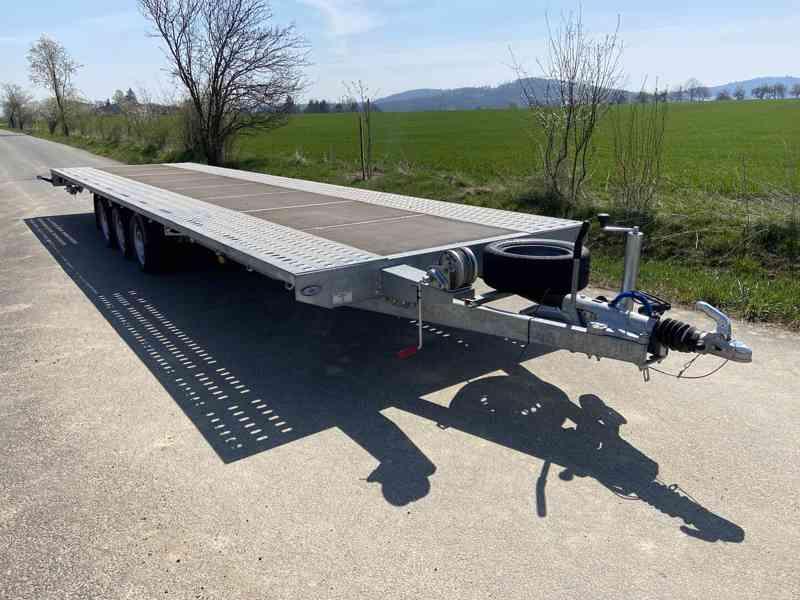 BORO INDIANA 800x200-3500 kg-přepravník automobilů - foto 3