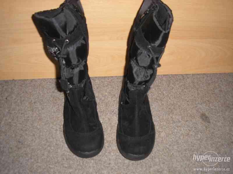 Zimní nové botky