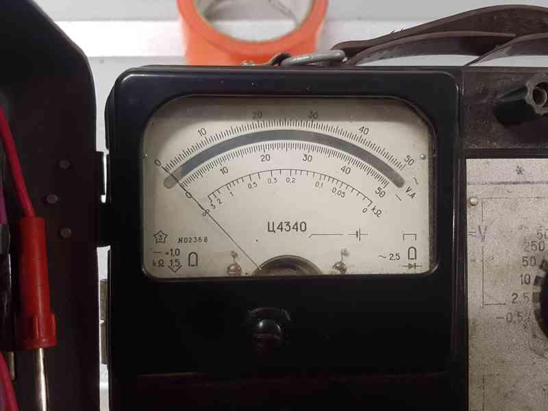 Multimetr C4317 - USSR - foto 3
