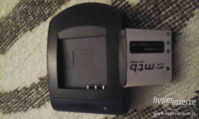 nabíječka + baterii NP-40