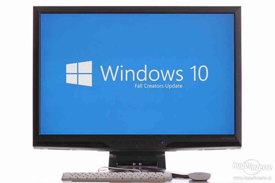 elektronická druhotná licence Windows 10 Pro s fakturou