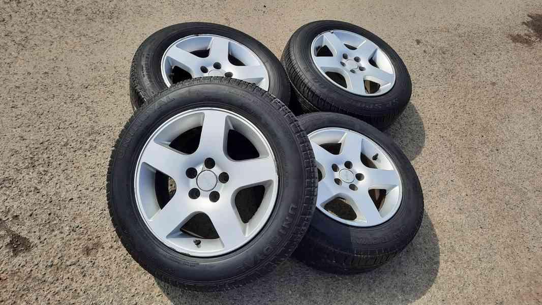 """alu kola Melber 15"""" 5x100, letni pneu 195/65/15"""