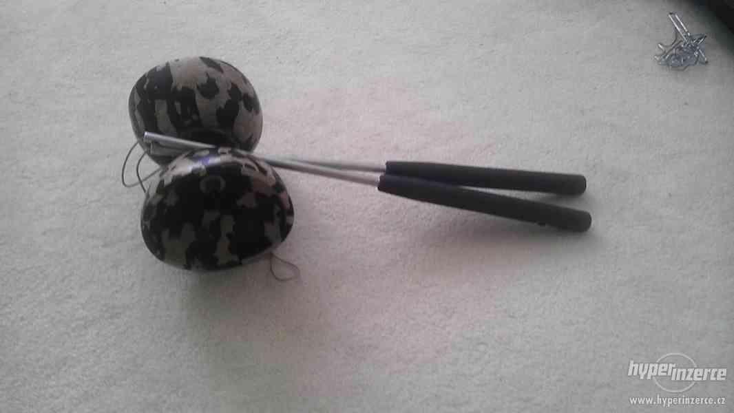 Diabolo+karbonové profi hůlky.