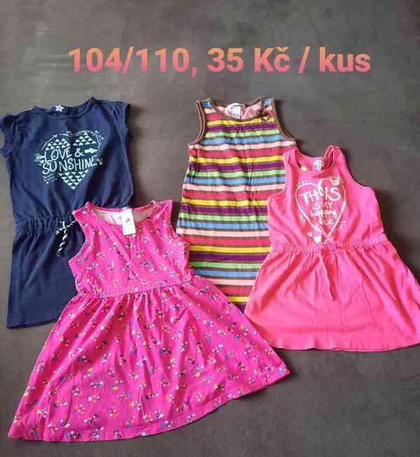 Oblečení holčička, vel. 104, 110, 116