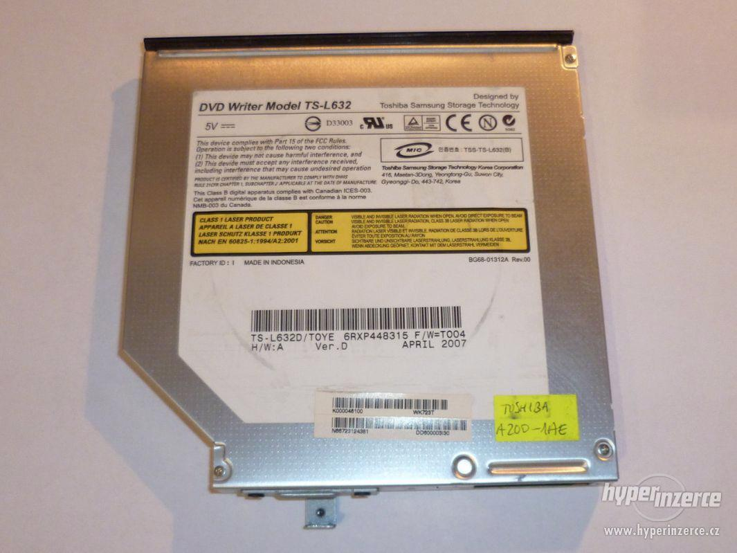 Toshiba TS-L632 DVD-RW mechanika IDE do starších notebooků - foto 1