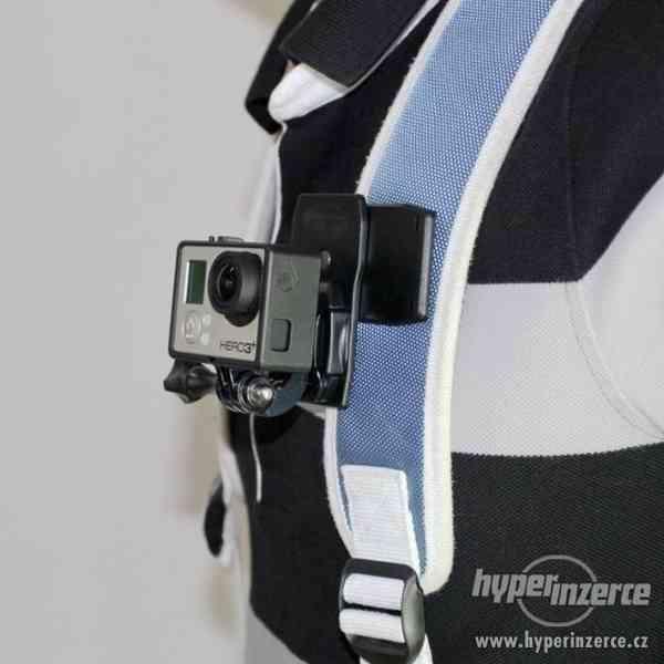 Otočná spona klip pro GoPro Hero - foto 6