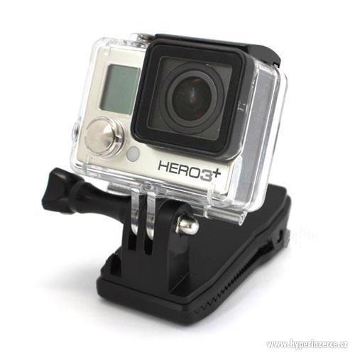 Otočná spona klip pro GoPro Hero - foto 7