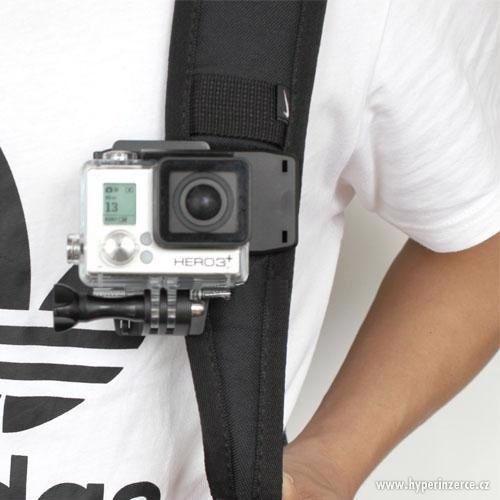 Otočná spona klip pro GoPro Hero - foto 8