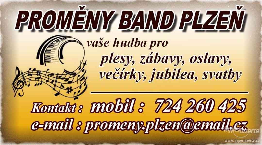 Kapela Plzeň - nabídka hudební produkce