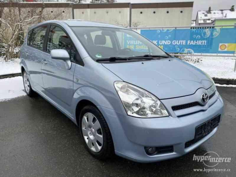Toyota Corolla Verso 1,8i benzín 95kw