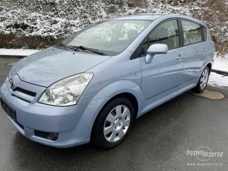 Toyota Corolla Verso 1,8i benzín 95kw - foto 9