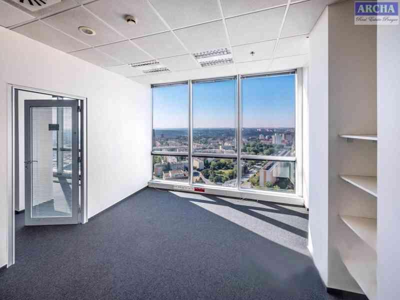 Nájem moderních kanceláří 85,6 m2, 13 patro, Praha 4 Pankrác - foto 3