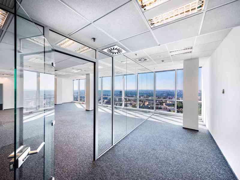 Nájem moderních kanceláří 85,6 m2, 13 patro, Praha 4 Pankrác - foto 4