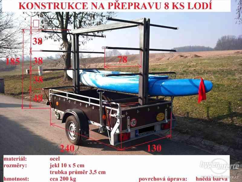 Prodej konstrukce na přepravu kanoí - foto 1