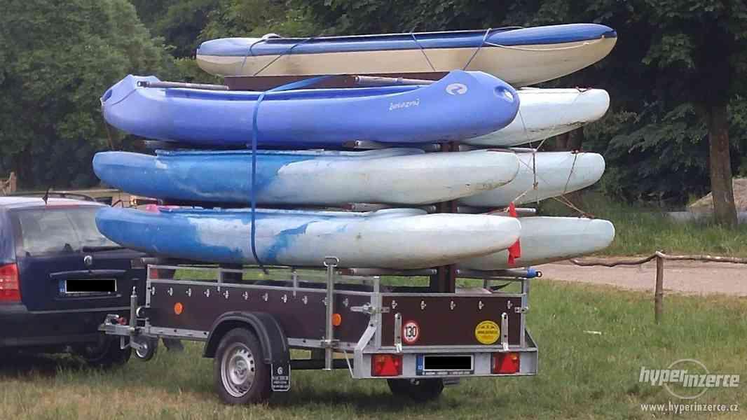 Prodej konstrukce na přepravu kanoí - foto 3
