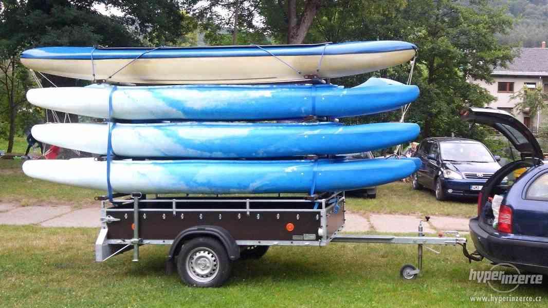 Prodej konstrukce na přepravu kanoí - foto 4