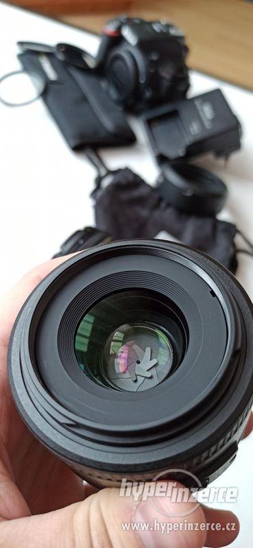 Nikon objektiv 35mm f/1.8G AF-S DX + filtry