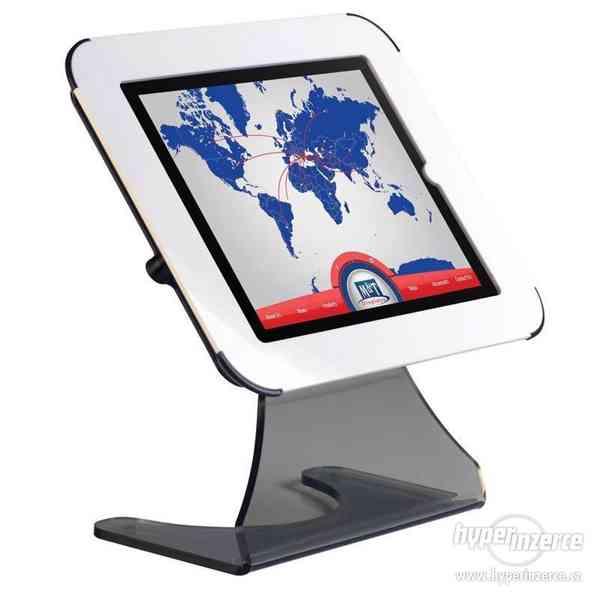 Stolní stojánek na iPad Desktop Kiosk - Bílá