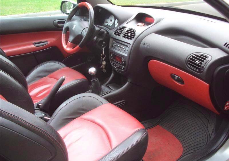 Kožený tapec Peugeot 206 GT - foto 1