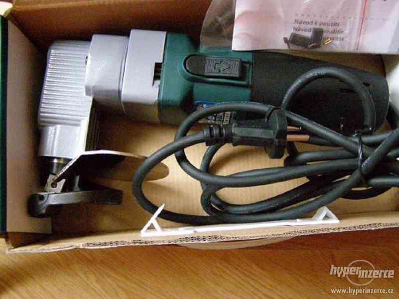 Nůžky na plech elektrické Extol - foto 2