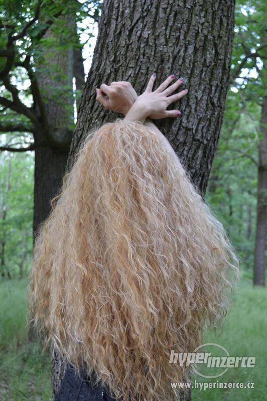 Paruka blond, hustá - foto 2