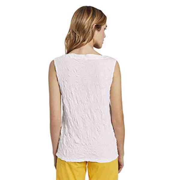 Tom Tailor - Dámský top na knoflíky Crincle Velikost: S - foto 2